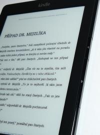 Otáčení stránek na čtečce